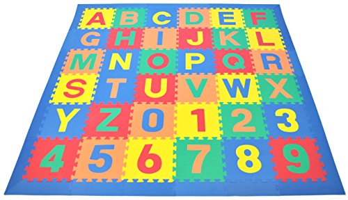 Wonder Mat Non Toxic Non Recycled Alphabet Letters