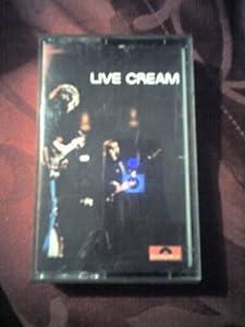 Live Cream, Vol. 1 [Musikkassette]