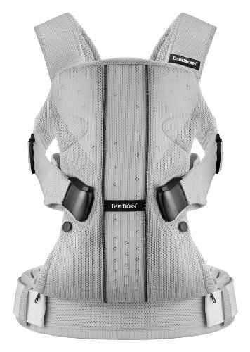 Cheapest Prices! BABYBJORN Baby Carrier One, Silver