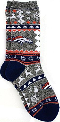 Denver Broncos Xmas Socks