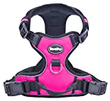 Best Front Range No-Pull Dog Harness.Reflective Outdoor Adventure Pet Vest with Handle. Large