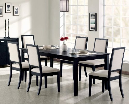 Black Distressed Furniture back-539678