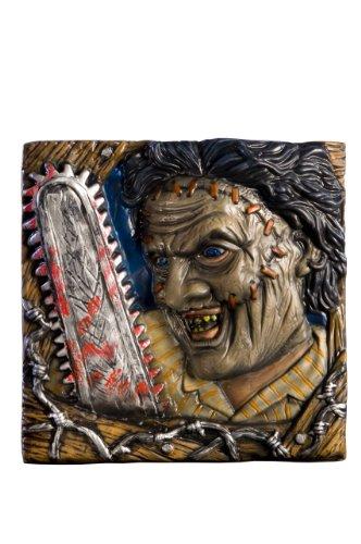 [Texas Chainsaw Massacre Movie Wall Decor, Leatherface, 13-Inches x 13-Inches] (Texas Chainsaw Massacre Costume For Kids)