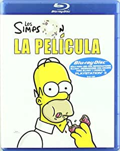 Amazon.com: Los Simpson La Pelicula (Blu-Ray) (Import Movie) (European