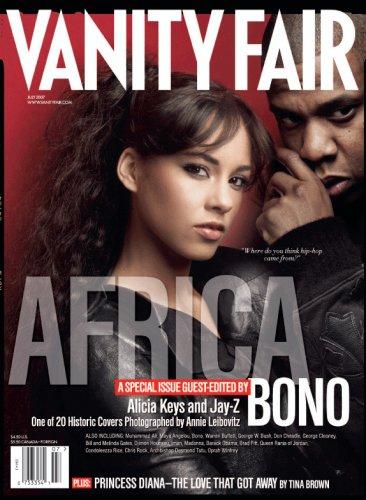 Vanity Fair July 2007 Africa Issue, Keys/Jay-Z Cover