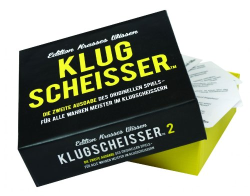 Kylskapspoesi 43011 - Klugscheisser Black Edition von Kylskapspoesi
