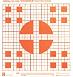 Hoppe's No. 9 100-Yard Cross-Hairs Sighting Target Paper (Pack of 20)