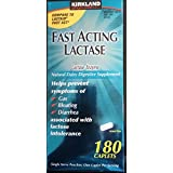 Kirkland Signature Fast Acting Lactase, Compare to Lactaid Fast Act (2 Pack)