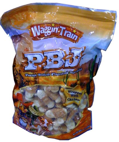 Waggin' Train PBJ Peanut Butter Flavored Biscuits