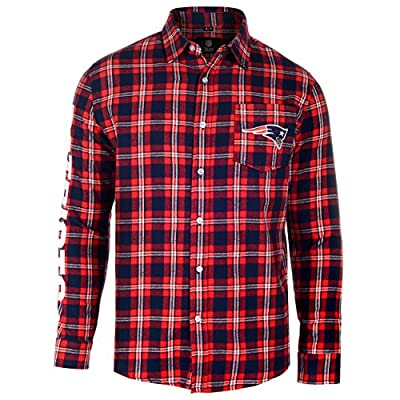NFL Football 2015 Wordmark Basic Flannel Long Sleeve Shirt - Pick Team