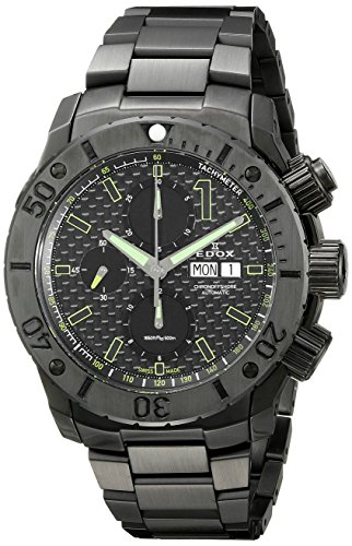 Edox-Mens-01115-37N-NV-Chronoffshore-Analog-Display-Swiss-Automatic-Black-Watch