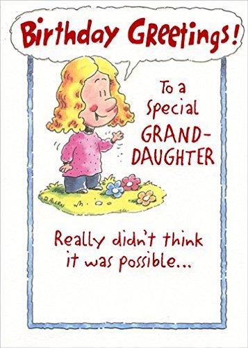Popular birthday wishes cards for granddaughter girl and three girl and three flowers granddaughter designer greetings birthday card bookmarktalkfo Gallery