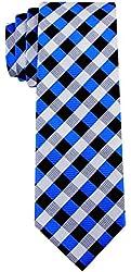 Scott Allan Men's Gingham Plaid Necktie