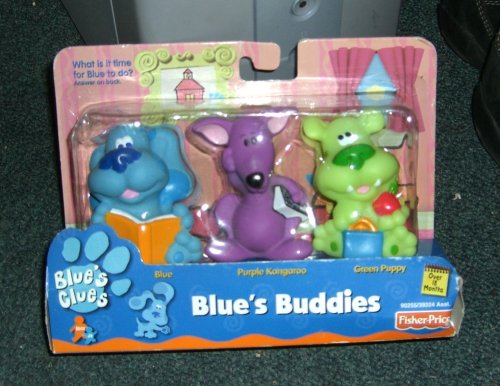 Buy Blue's Clues Blue's Buddies – Blue, Purple Kangaroo, and Green Puppy