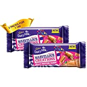 Cadbury Dairy Milk Marvellous Creations Chocolate Bar 75GM (Pack Of 2)