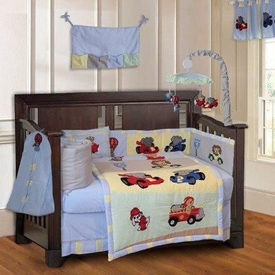 BabyFad Animal Zoom Crib Bedding