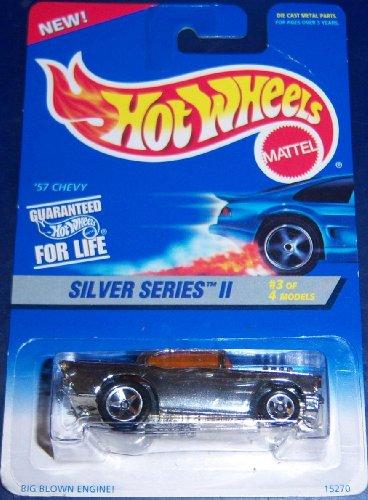 Hotwheels Silver Series II '57 Chevy (chrome)