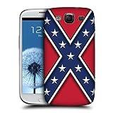 Head Case Designs Rebel Flag Redneck Pride Hard Back Case Cover for Samsung Galaxy S3 III I9300