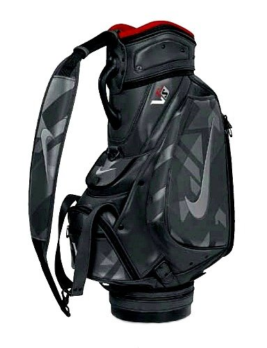 Nike Golf VRS Victory Red Speed Staff Club Bag, Silver/Red