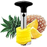 Pineapple Corer Slicer Peeler (Stainless-Steel) - 3 in 1 Tool - by Utopia Kitchen