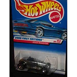 2000 First Editions 6 Deuce Roadster 2000-66 Collectible Collector Car Mattel Hot Wheels 1:64 Scale