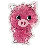 TheraPearl Children's Pals, Pearl the Pig, Reusable Hot Cold Therapy Pack with Gel Beads