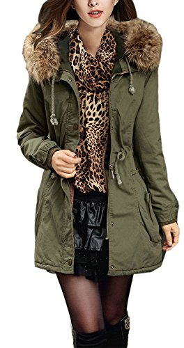 youtobin-womens-slim-winter-faux-fur-hooded-coat-thick-cotton-padded-clothes