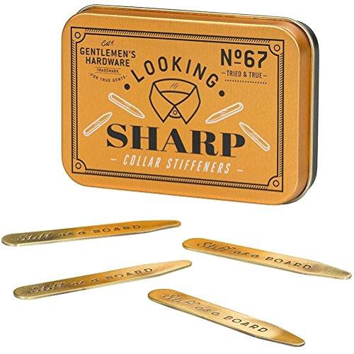 mysunshine-wild-wolf-brass-collar-stiffeners-set-of-4-in-vintage-reusable-tin
