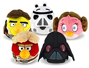 Angry Birds Starwars Plush Set of 5 Pieces