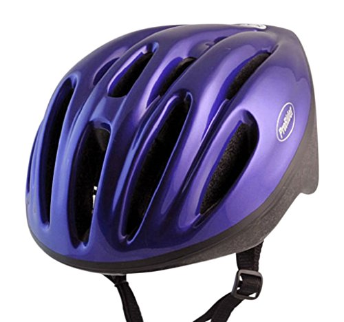 Classic Bike Helmet with Black Foam, Includes Bonus Weatherproof Vinyl Permanent Adhesive Reflector Sticker, Different Sizes Available. (Adhesive Jersey Numbers compare prices)