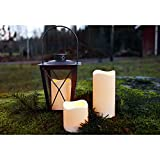 Star-LED-lighting-plastic-candle-flickering-ca-115-cm-x-75-cm-Timer-battery-operated-amber-LED-outdoor-window-box-with