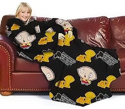 Family Guy Stewie Mum Blanket/SLEEVES Comfy Throw Large
