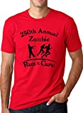 Annual Zombie Run for the Cure T-Shirt Funny Undead Shirts