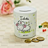 Aries Piggy Bank- Piggy Bank 1, piggy bank online, piggy bank for aries, gifts for aries, gifts for aries man, gifts for aries woman, aries gift ideas, birthday gifts for aries, free shipping, free gift wrap, Zodiac Gifts, Aries Gift Collection, Aries Gift Ideas, Money Bank-GIFTS1670