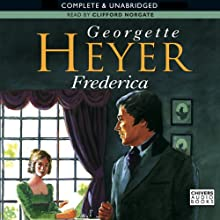 Frederica (       UNABRIDGED) by Georgette Heyer Narrated by Clifford Norgate
