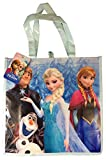 Disneys Frozen Elsa, Anna, Olaf & Kristoff Reusable Shopping Tote