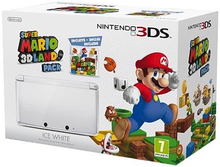 Nintendo 3DS Hw Blanca + Super Mario 3D Land