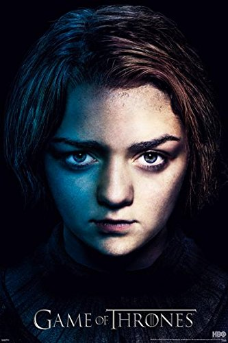 Game of Thrones S3 Arya TV Poster Art Print (Arya Game Of Thrones compare prices)