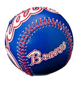 Amazon.com : MLB Atlanta Braves Retro Baseball, Blue