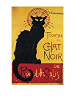 Artopweb Panel Decorativo Steinlen Chat Noir 60x90 cm