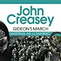 Gideon's March Audiobook by John Creasey Narrated by Hugh Kermode