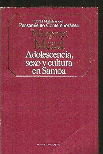 Adolescencia, Sexo Y Cultura En Samoa
