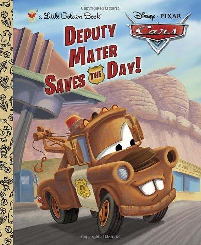 Deputy Mater Saves the Day! (Little Golden Books)