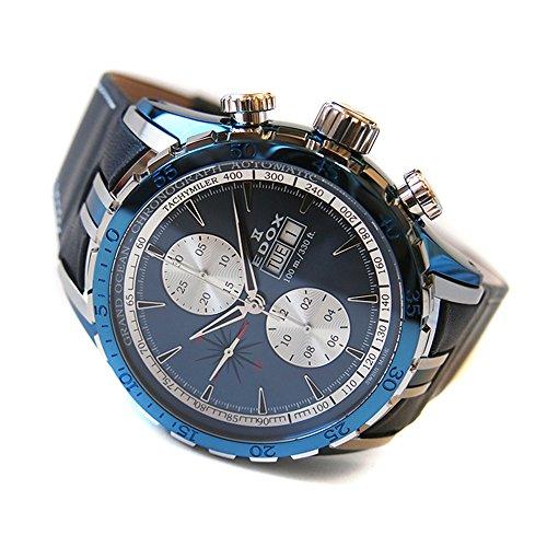 [エドックス]EDOX 腕時計 01121 357B BUIN グランドオーシャン クロノグラフ オートマチック 【並行輸入品】