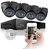 Funlux KS-Y84UH 8-Channel Surveillance Security Ca...