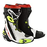 2220012 125 46 - Alpinestars 2012 Supertech R Motorcycle Boots 46 Fluorescent (UK 12)