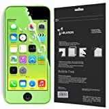 i-Blason HD Matte Bubble Free Screen Protector for Apple iPhone 5C Reusable Anti Glare (AT&T, Verizon, Sprint, T-Mobile, All Carriers) (Green)