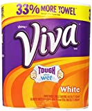 Viva Big Roll White Towels, 68 One Ply Sheet ( 2 Count )