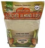 Honeyville Blanched Almond Flour Super Fine Grind Gluten Free Cholesterol Free 3lbs