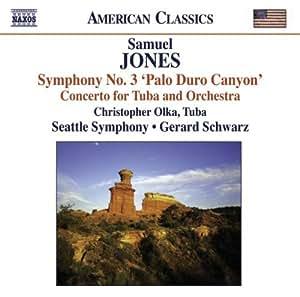 Samuel Jones : Symphonie n°3 - Concerto pour tuba et orchestre